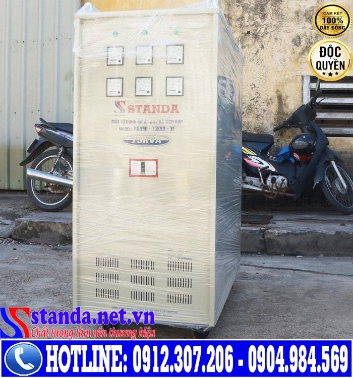 9 điểm khác biệt của ổn áp 3 pha STANDA 75KVA dải điện áp 260V-430V