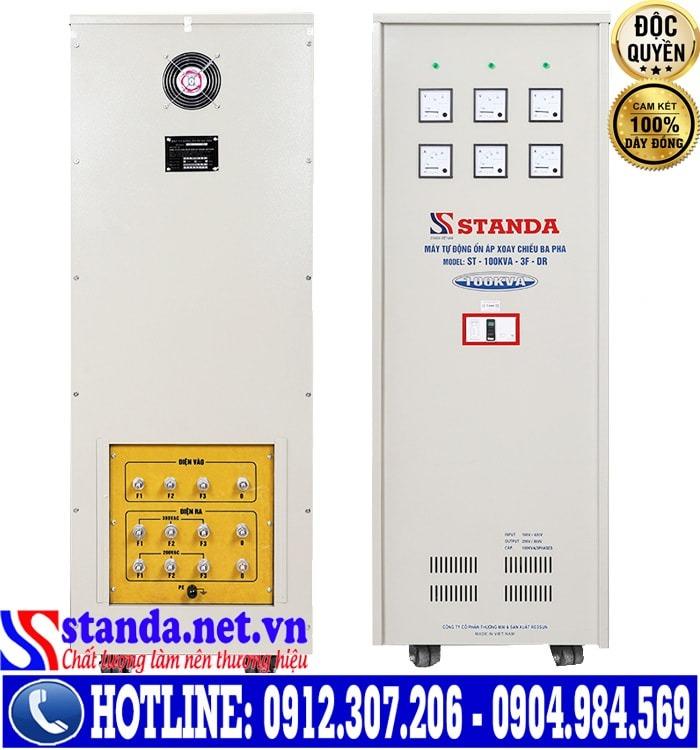 ổn áp 3 pha Standa 100KVA dải điện áp 160V-430V