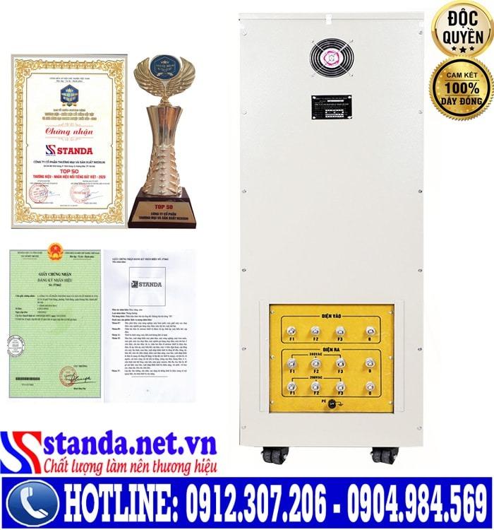 Ổn áp standa 3 pha 100KVA điện áp 160V có gì khác biệt so với các dòng ổn áp khác