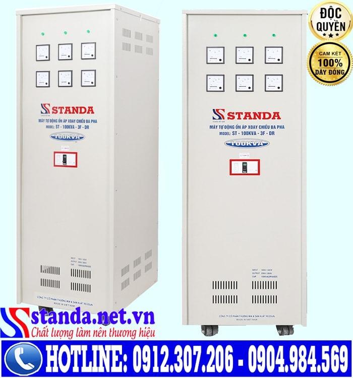 Ổn áp standa 3 pha 100KVA dải điện áp 160V có những công dụng gì?