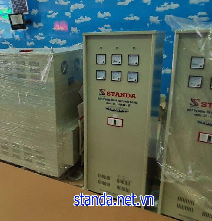 Ổn áp Standa 100kva chính hãng của Công ty