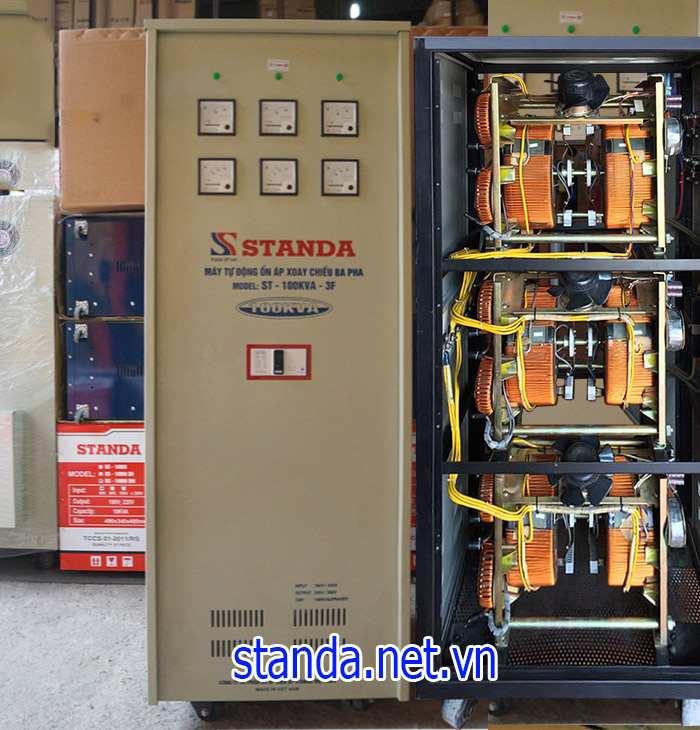 Ổn áp Standa 100kVA dải 260V-430V