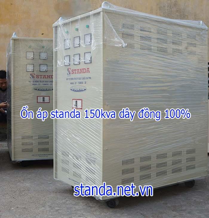 Ổn áp Standa 150KVA dải 260v-430v chính hãng của Công ty