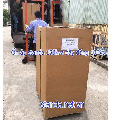 Ổn áp standa 150kva Input 260v-430v-Output 380v