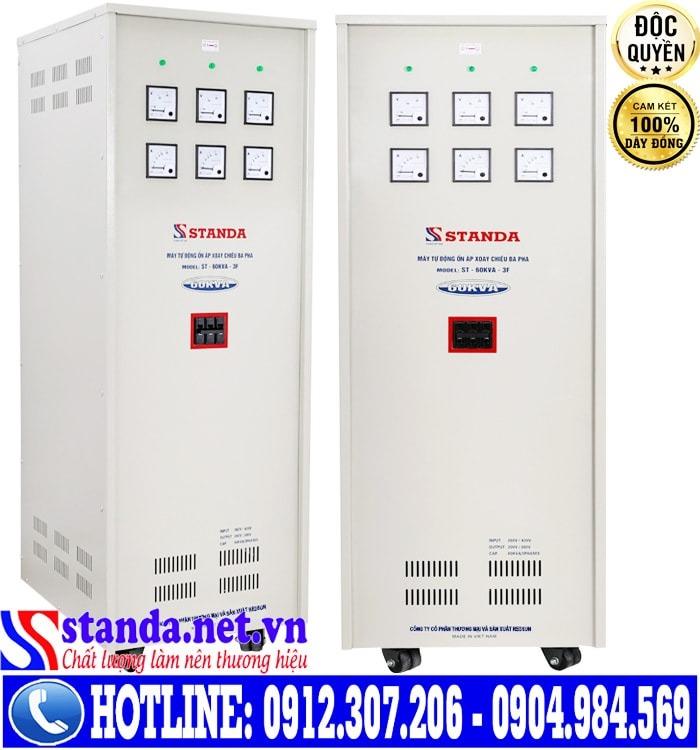 Hướng dẫn sử dụng Ổn áp 3 pha 60KVA điện áp 260V-430V Standa