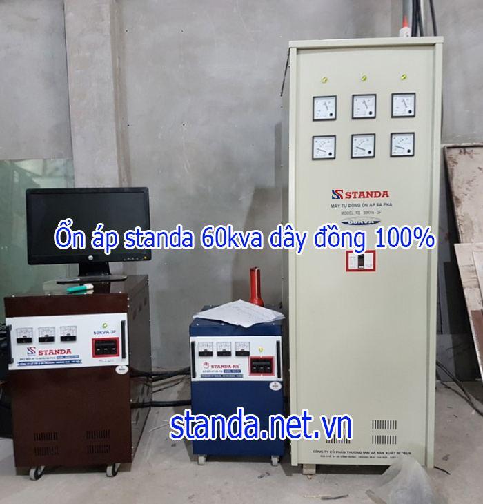 Ổn áp Standa 60kVA dải 260V-430V chính hãng của Công ty