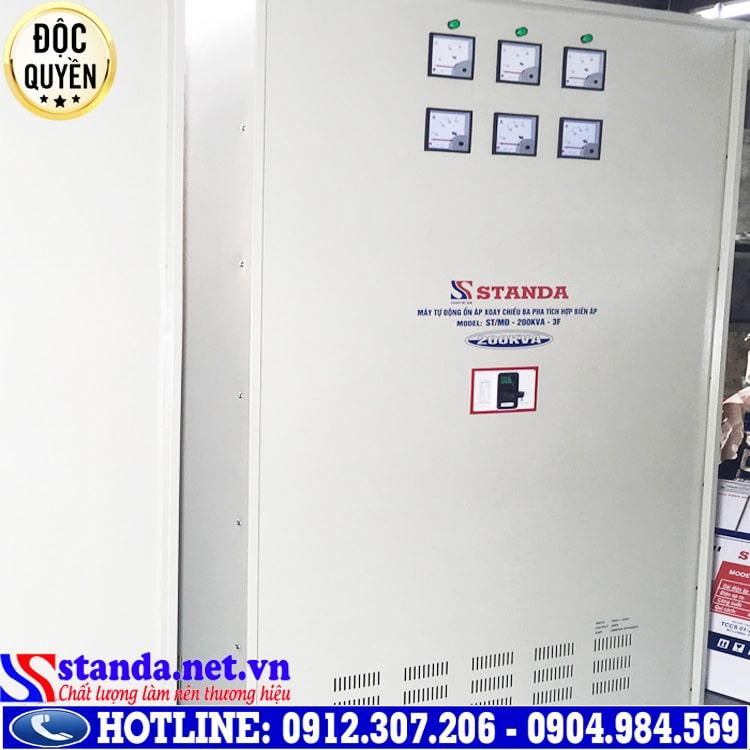 hình ảnh ổn áp Standa 3 pha 200KVA điện áp 260V