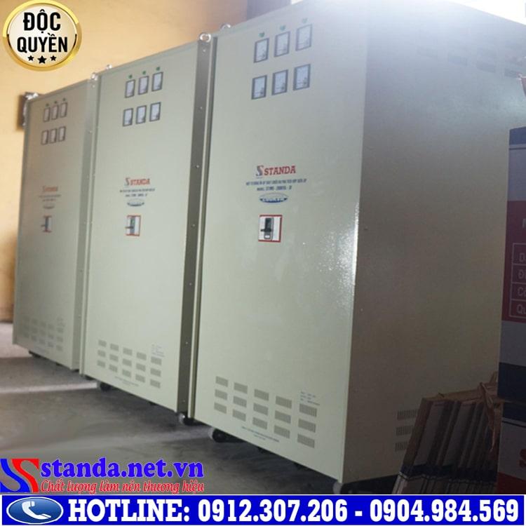 Hướng dẫn sử dụng ổn áp điện 3 pha STANDA model ST-200KVA-3F