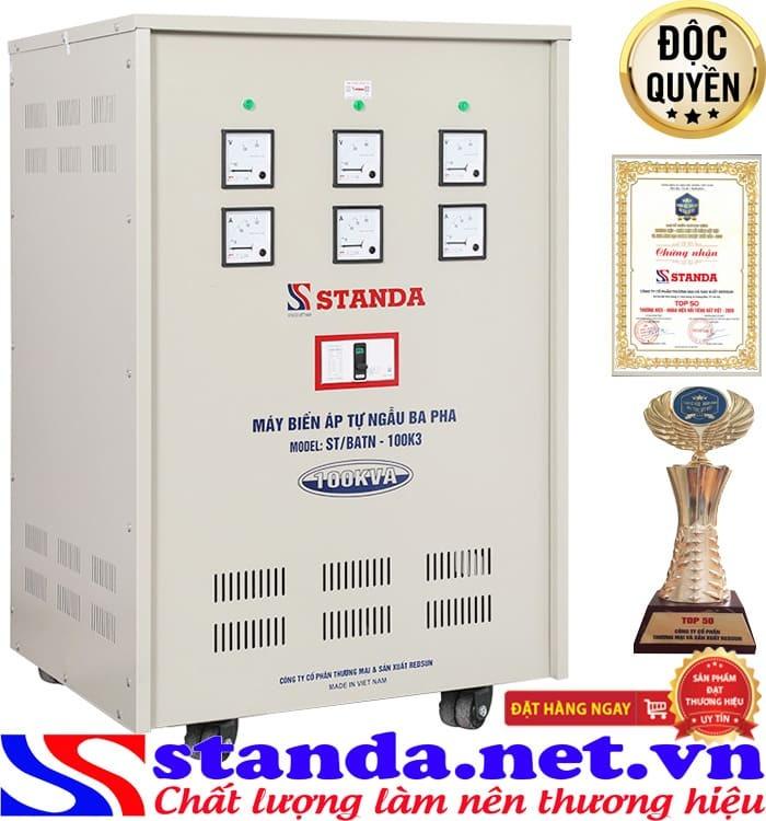 Biến áp Standa 100kVA chính hãng chất lượng tốt nhất thị trường