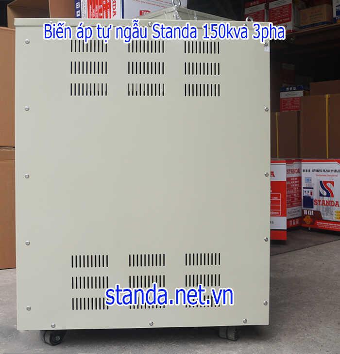 Biến áp 3 pha standa 150kva-Phần sườn máy