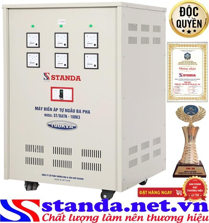 Chức năng của biến áp Standa 100kva chính hãng