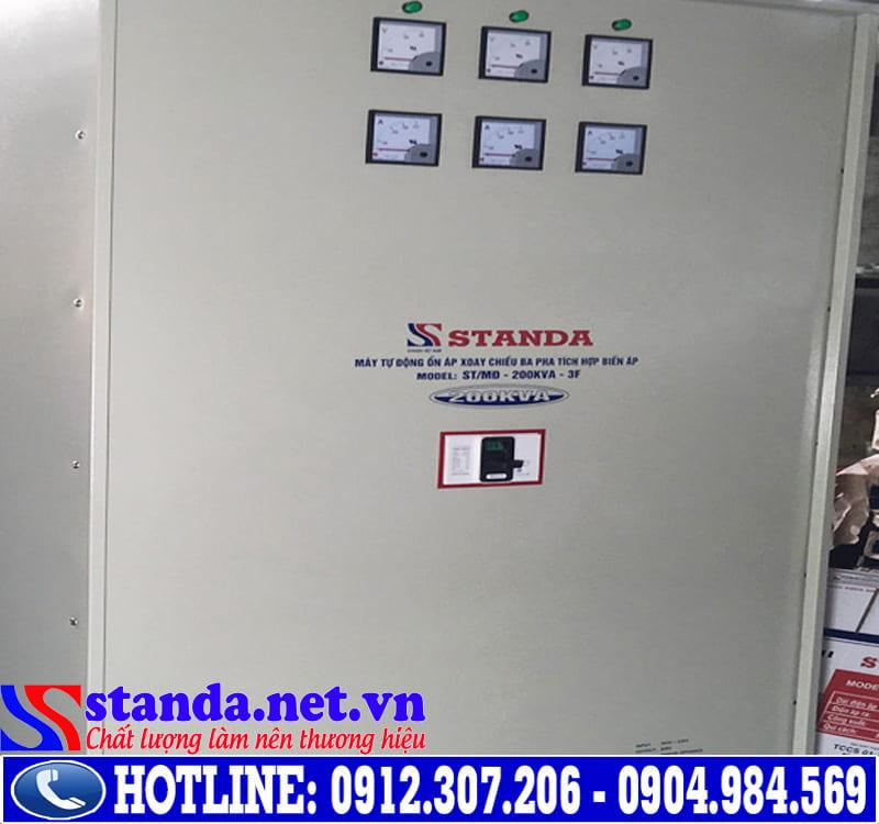 Ổn áp Standa 200kva dải 160V-430V