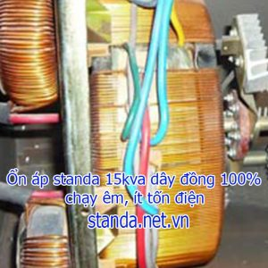 Ổn Áp Standa 15kVA Dây Đồng 100%