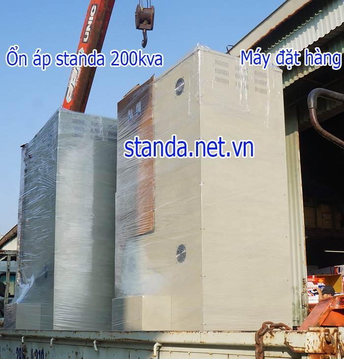Ổn áp standa 200kVA dải 160V-430V vận chuyển lắp đặt tận nơi