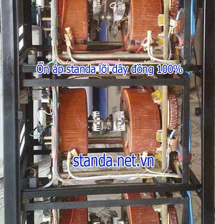 Ổn áp standa 75kVA dây đồng 100 đủ công suất