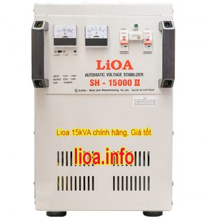 Ổn Áp Lioa 15kVA SH-15000II Dải Điện 150V-250V Chính Hãng Giá Tốt