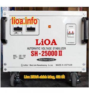Ổn Áp Lioa 25kVA SH-25000II Bán Giá Phân Phối Tại Tổng Kho