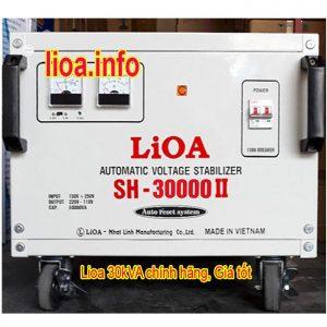 Ổn Áp Lioa 30kVA SH-30000II Tổng Kho Phân Phối Giá Cực Tốt