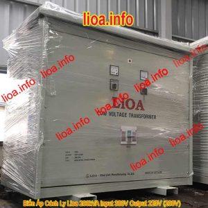 Biến Áp Cách Ly Lioa 200kVA Input 380V Output 220V 200V Phân Phối Tại Kho Giá Cực Tốt