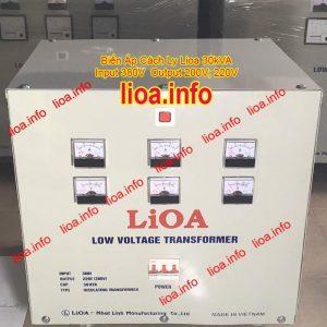 Biến Áp Cách Ly Lioa 30kVA Chính Hãng Phân Phối Giá Tốt Có Đủ CO CQ VAT