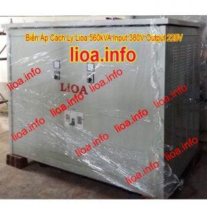 Biến Áp Cách Ly Lioa 560kVA 3 Pha Có Đủ CO CQ VAT Phân Phối Toàn Quốc