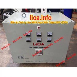 Biến Áp Cách Ly Lioa 60kVA Input 380V Output 220V 200V Phân Phối Tại Kho Giá Cực Tốt