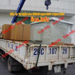 Biến Áp Tự Ngẫu Lioa 250kVA 3Pha Có Đủ CO CQ VAT Phân Phối Toàn Quốc
