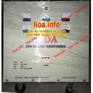 Biến Áp Tự Ngẫu Lioa 30kVA Điện Vào 380V Điện Ra 200V và 220V Hàng Chuẩn Giá Tốt