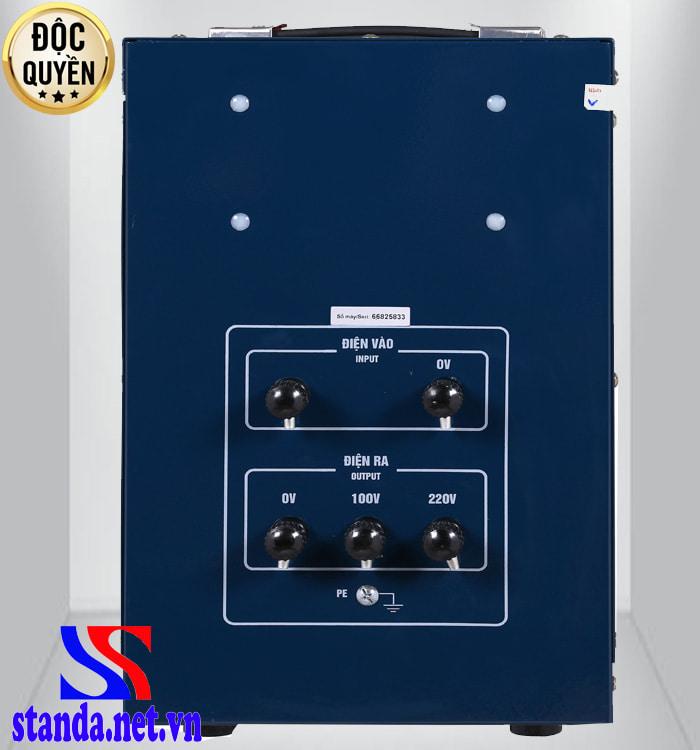 Đặc điểm của ổn áp Standa 7.5kva dải 150v – 250v