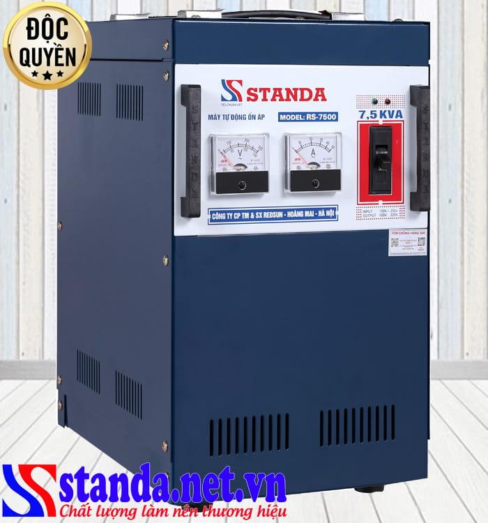 Tác dụng của ổn áp Standa 7.5kVA dải 150V-250V