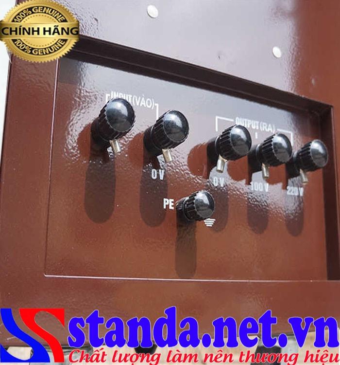 Ưu điểm của ổn áp Standa 15kva chính hãng