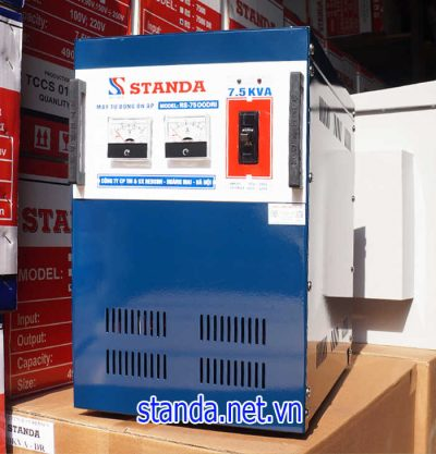 Cách nhận biết ổn áp Standa 7,5kVA chính hãng