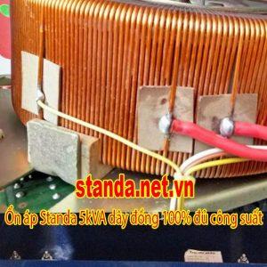 Ổn Áp Standa 5KVA 5000DR Dải 90V-250V Giá Tốt Máy Chuẩn Dây