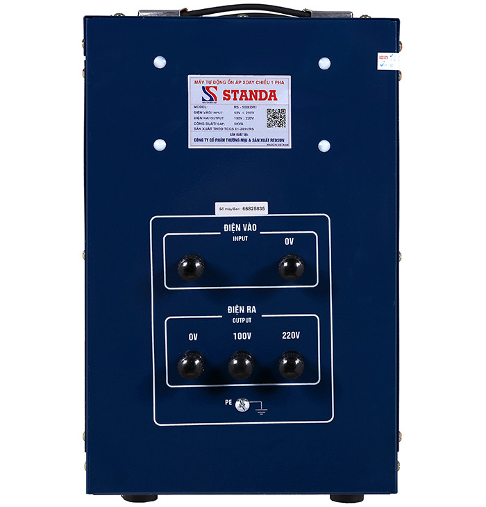 Ổn áp standa 5kva 5000DRI-Phần lắp đặt