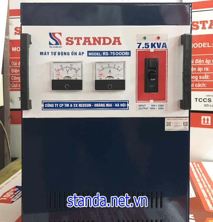 Ổn áp Standa 7,5kVA chính hãng của Công ty dây đồng 100%