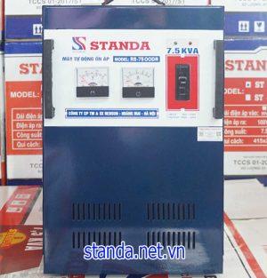 Ổn áp Standa 7,5kVA dải 90v giá bao nhiêu