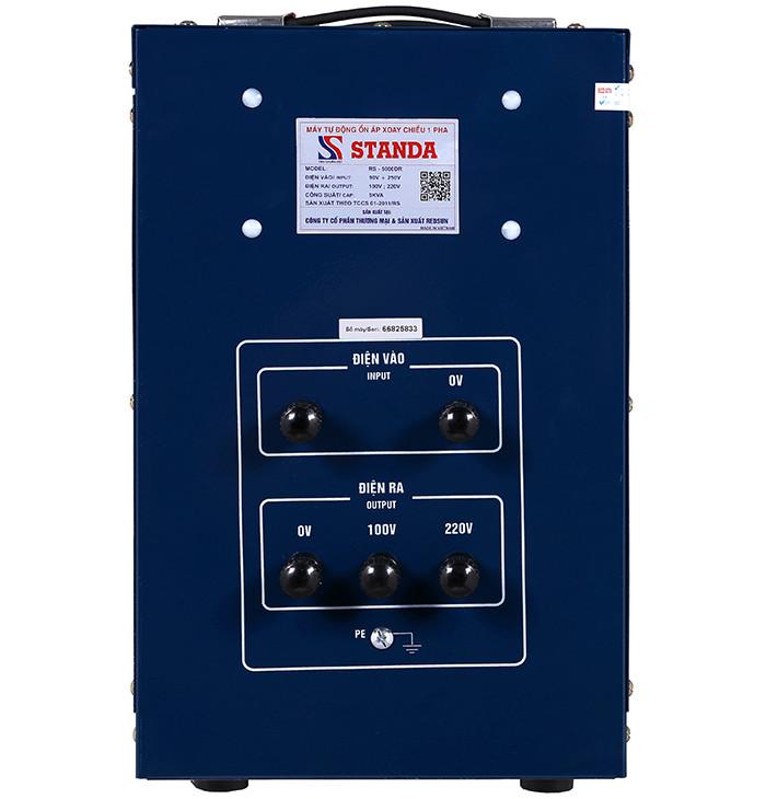 Standa 5kva Model RS-5000DR-Phần lắp đặt