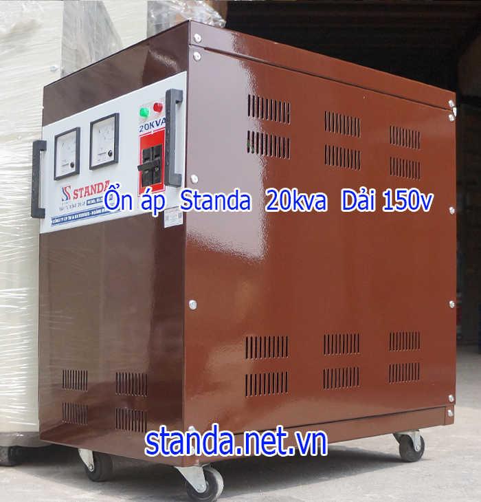 Ổn áp standa 20kva dải 150v-250v chính hãng của Công ty