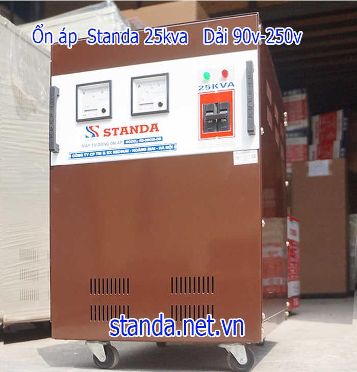 Ổn áp standa 25kva chuẩn ít tốn điện