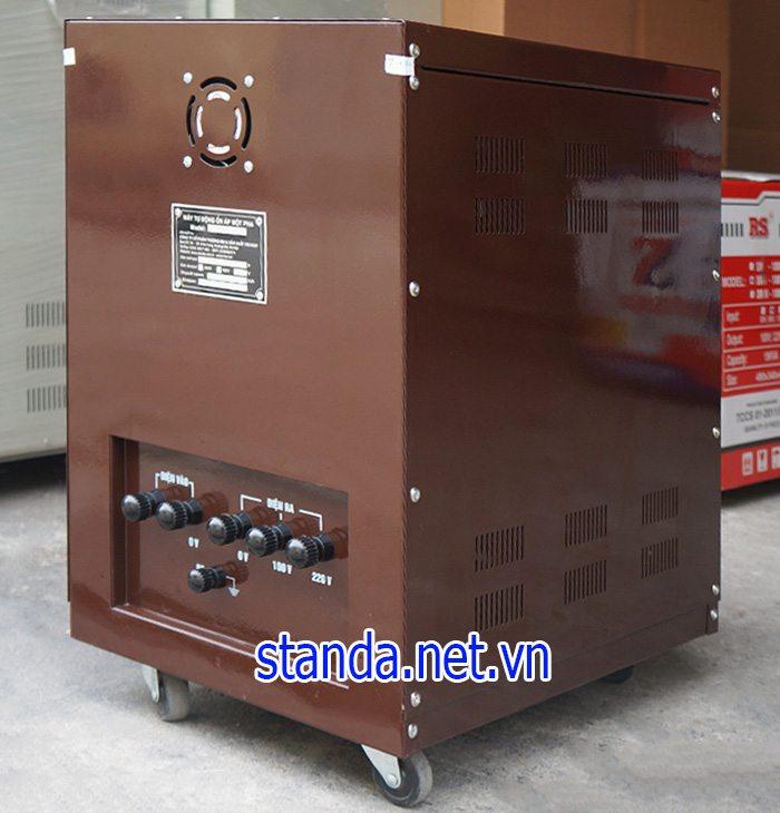 Ổn áp Standa 30kva 1 pha điện vào 90v-250v điện ra 100v; 220v