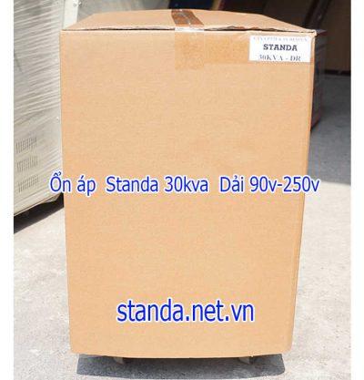 Ổn áp Standa 30kva DR dải 90v-250v-Vỏ máy
