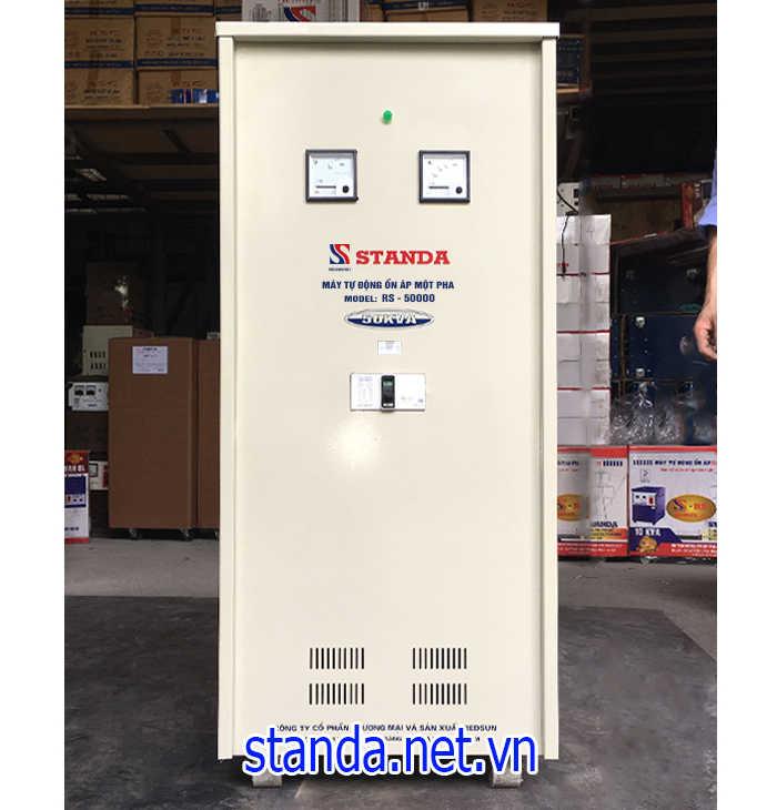 Ổn áp Standa 50kva dải 150v-250v điện ra 220v; 100v chính hãng của Công ty