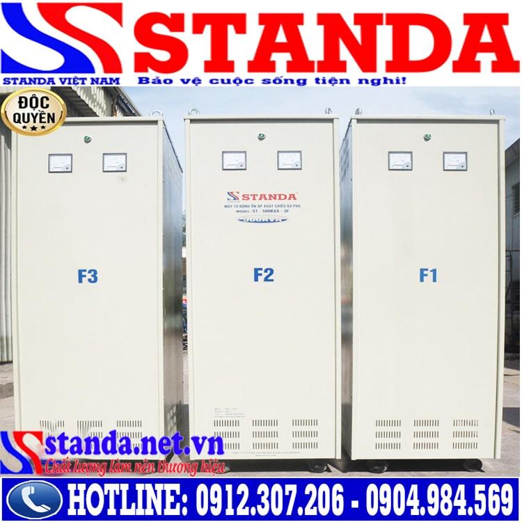 Công dụng của ổn áp 500KVA STANDA 3 pha điện áp 260V - 430V