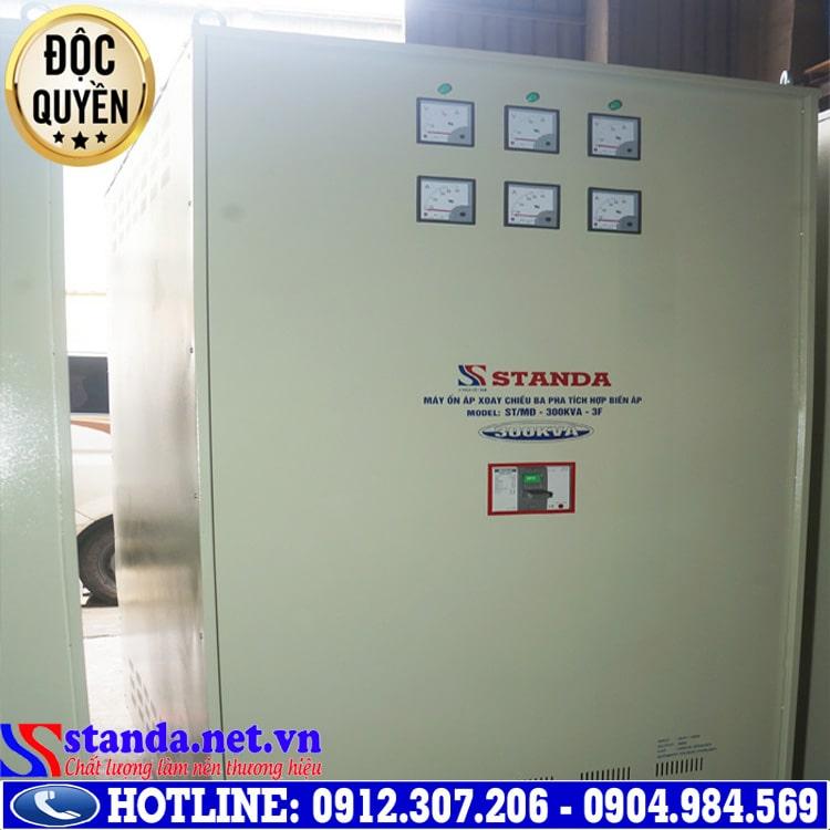 Tiện ích khi sử dụng ổn áp Standa 3 pha 300KVA dải điện áp 260V - 430V