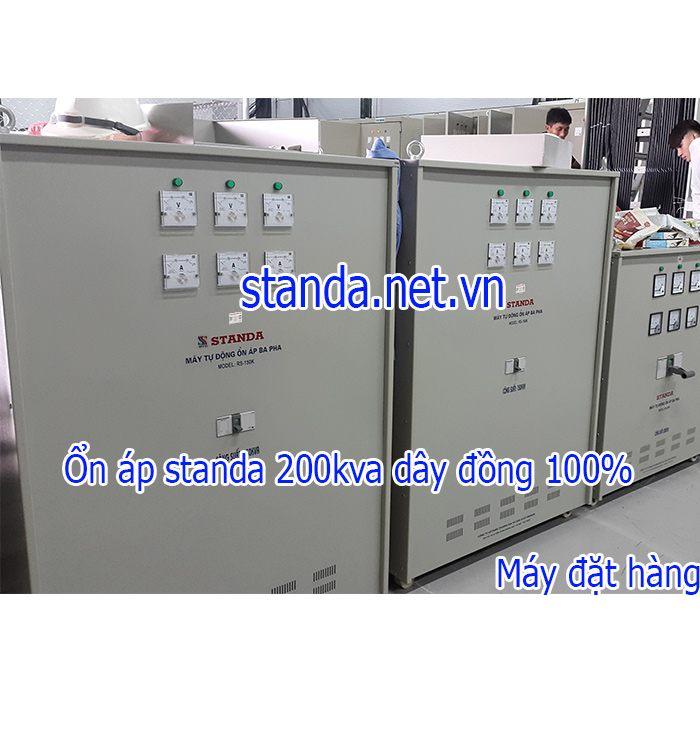 Ổn áp Standa 200kva 3F chính hãng-Máy đặt hàng