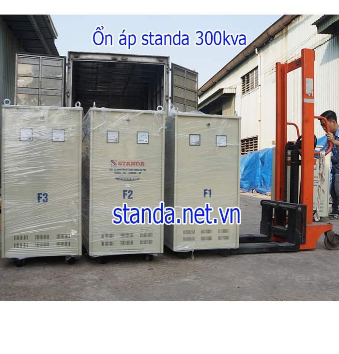 Ổn áp standa 300kVA 3F chính hãng của Công ty