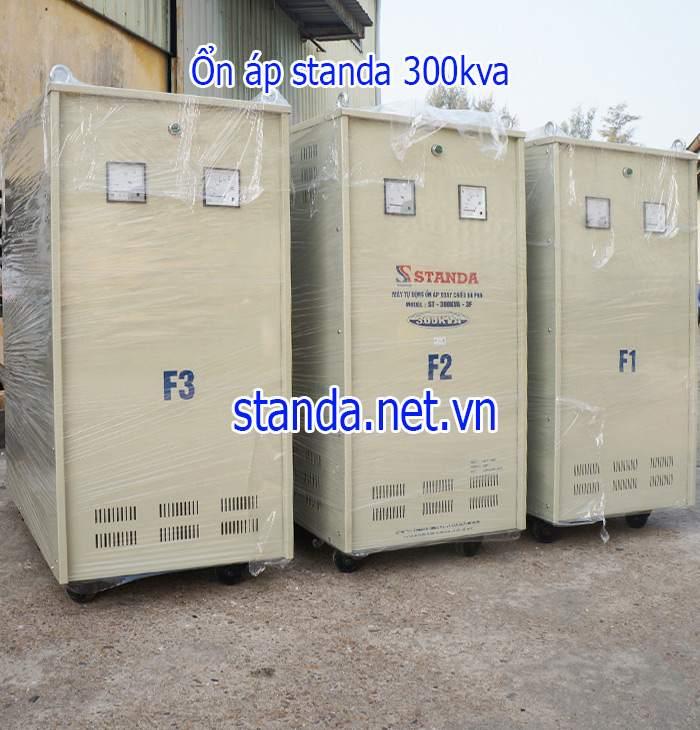 Ổn áp standa 300kva dải 160v-430v chính hãng của Công ty