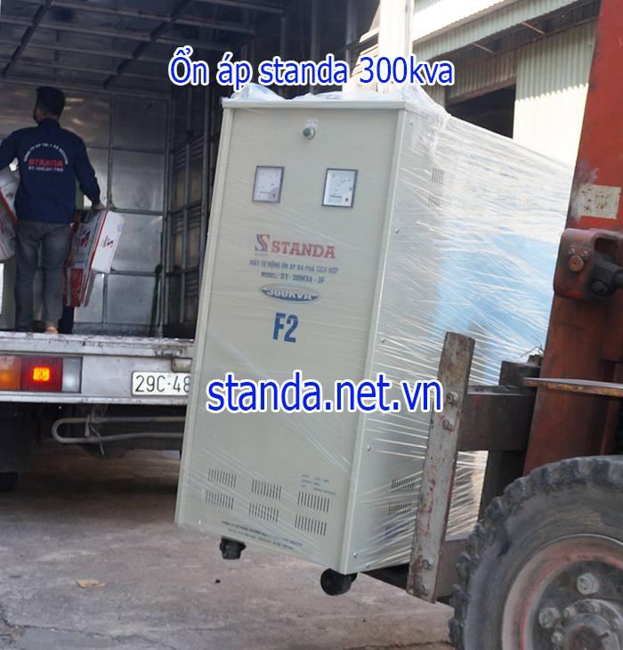 Ổn áp Standa 300KVA dải 260V-430V chính hãng của Công ty