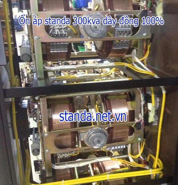 Ổn Áp Standa 300kVA Input 260V-430V Output 380V Dây Đồng 100%