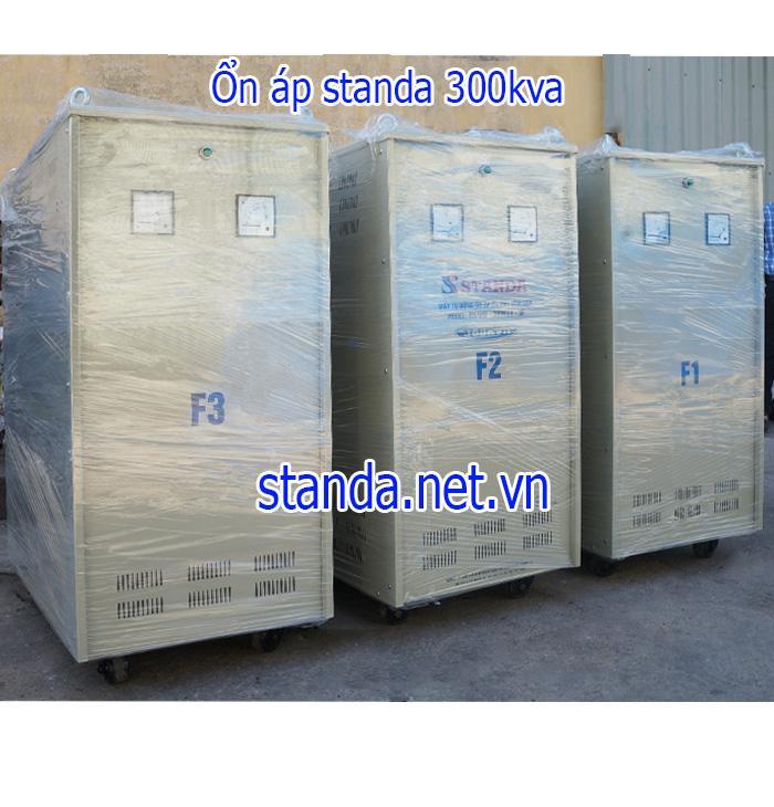 Ổn Áp Standa 300kVA Dải 260V-430V